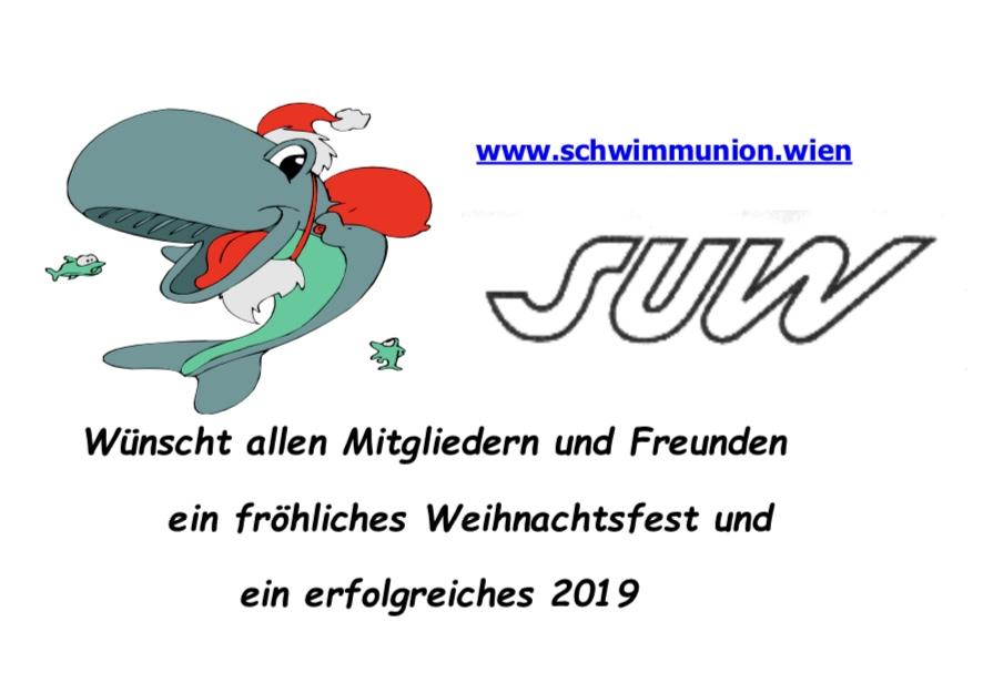 Frohe Weihnachten Und Ein Erfolgreiches Neues Jahr.Frohe Weihnachten Und Ein Erfolgreiches Neues Jahr Schwimm Union Wien